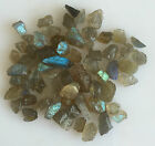 50 CT SCOOP NATURAL LABRADORITE ROUGH GEMSTONES LOOSE WHOLESALE LOT RAW MINERAL