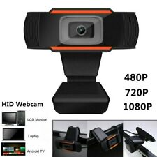1080 HD USB Web Camera Webcam Video Recording+Microphone For PC Laptop Desktop