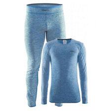 CRAFT Active Comfort Baselayer Set, Underwear Men's, Top Bottom, Blue