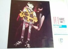 Cheap Trick -One Of A Kind Photo with Ticket Stubs & Guitar Pick*Excellent*