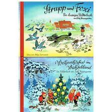 Weihnachtsfest im Wichtelland - Strupp + Foxi - von Fritz Baumgarten NEU