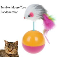 Funny Pet Toy Tumbler Mouse Toys for Cats Kitties Pets Accessories Popula Eb JCA