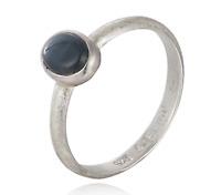 Silvery Ring Sternsaphir Silber 925 schmuckrausch