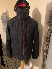 Superdry Coat Small Black