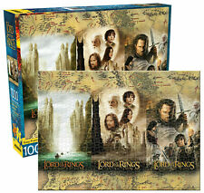 Lord of the Rings Triptych Jigsaw Puzzle 1000 Pieces Free Post NEW