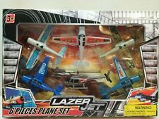 Plane set chopper and prop planes 6 piece New in box