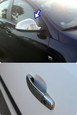 chrome mirror cover&door handle cover FIT 2009on vauxhall opel INSIGNIA