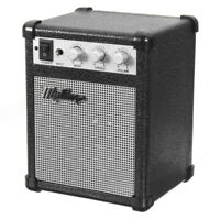 Electric Guitar Practice Amp Amplifier Speaker 5W Powerful Sound Portable 4 ohms