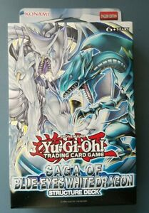 Yugioh  Saga of Blue-Eyes White Dragon Structure Deck English Sealed Fast Ship