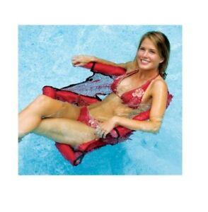 NOODLE FUN SEAT Lounge FOAM MESH Lake Vacation Beach Pool Swimming Float 9043