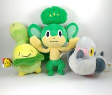 Pokemon Plush Lot Jakks Pacific Pansage Pidove Budew 2007 2011