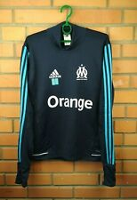 Olympique Marseille training pullover sweater size XS BK5622 soccer Adidas