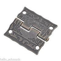 10 Bronze Scharnier Türband Schatullenscharniere Schranktüre Türscharnier