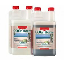 Canna COGr Flores A+B  2x1 Lt Fertilizzanti per Fioritura - Coltivazione Indoor