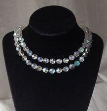 Flowers/Plants Crystal Vintage Costume Necklaces