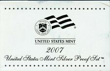 2007-S US Silver Proof Mint Set 14 Coins 20uacl0925