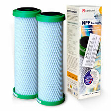 2x Carbonit Active Charcoal NFP Premium U-9 Water Filter Replacement Cartridge