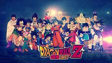 Poster 42x24 cm Dragon Ball Goku Saiyan 02