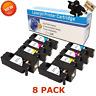 8-Pack Toner Cartridge Set for Dell E525w E525 593-BBJX DPV4T H3M8P Premium
