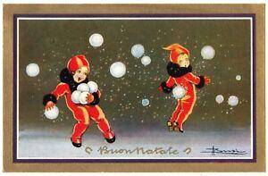 BUSI  BUON ANNO - ART DECO  Bonne Année-bambini-enfants-Kinder- degami n. 3048