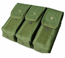 Condor Tactical Triple 7.62 Magazine Pouch Olive MA33-001 MOLLE PALS