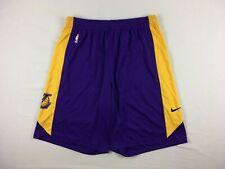 Los Angeles Lakers Nike Shorts Men's Purple/Yellow Dri-Fit NEW Multiple Sizes