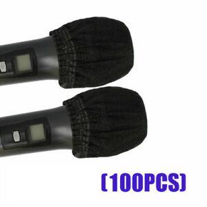 Wholesale 100PC Mike Cover Odor Removal Microphone Grill Hygiene Cover
