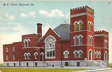 B30/ Hammond Indiana In Postcard c1910 M.E. Church Building