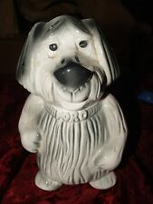 Vintage FORD Motor Company Advertising - Shaggy Dog Coin Bank - Made in USA