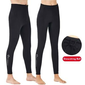 2mm Neoprene Men Women Wetsuit Surf Swim Diving Trousers Long Pants Wet Suit UK