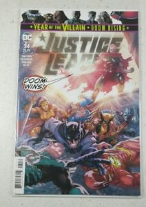 Justice League #34 DC 2019 Year of the Villain Doom Rising Dec 2019 NM NEW