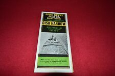 John Deere DA Disk Harrow Dealer's Brochure AMIL4