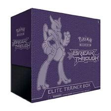 Breakthrough Elite Trainer Box Pokemon TCG Sealed Mega Mewtwo X 8 Booster Packs