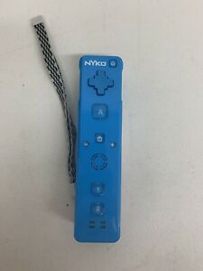 Nyko Wand Motion Controller for Nintendo Wii Blue TESTED & WORKING!!!