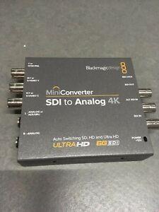 Blackmagic Design SDI to Analog 4K Mini Converter - Used