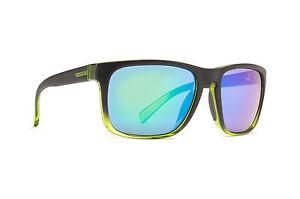 Von Zipper Sunglasses LOMAX GREEN GLACIER / QUASAR GLO LOM-BLI SMSF1LOM-BLI