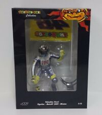 MINICHAMPS VALENTINO ROSSI 1/12 FIGURINO 2009 GP MISANO WITH FLAG L.E. 999 PCS