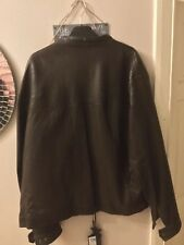 Discount Brand new with tags never worn Blue Harbour soft luxury leather jacket.