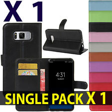 For Samsung Galaxy Mobile Phone New PU Leather Flip Wallet Book Case Cover Pouch
