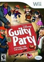 Disney Guilty Party - Nintendo  Wii Game