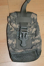 US Army Molle II Acu Pouch 1 QT Water Bottle Trinkflaschentasche Universa