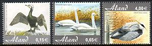Aland Islands 230-232, MNH. Birds, 2005