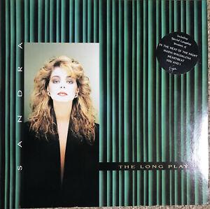 Sandra – The Long Play --  LP Vinyl 1985