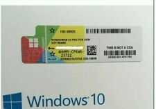 Licence sticker windows 10 pro professionnel 32&64bit neuf