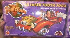 MATTEL 11669 FLINTSTONES LE SABER TOOTH TIGER 5000 TOY CAR