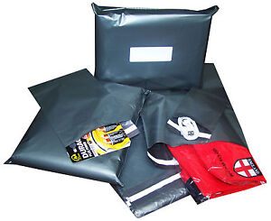 Postal Mailing Bags Postage Self Seal Poly Strong Grey Plastic All Sizes Cheap