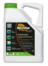 ROUNDUP 5L 480 FLEX ROUNDAP WEEDKILLER CONCENTRATE EXTENDED CONTROL