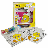 Kids Tweety Window Stickers Paint Arts and Craft Kit