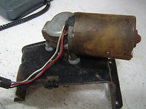 1967-1968 Ford Mustang Windshield Wiper Motor