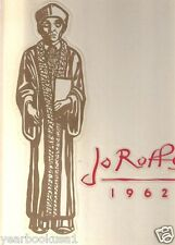 St. John Fisher College Rochester New York 1962 Jo Roffs Yearbook Annual